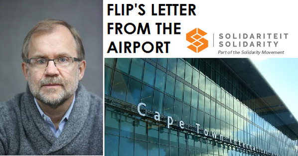 FLIP'S LETTER FROM THE AIRPORT