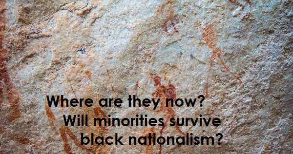 Will minorities survive black nationalism?