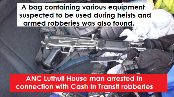 BOMBSHELL : NOW TOP ANC MAN IN FREE STATE LINKED TO CASH IN TRANSIT ROBBERIES