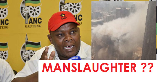 ANC Jacob Mamabolo - Is he guilty of MANSLAUGHTER